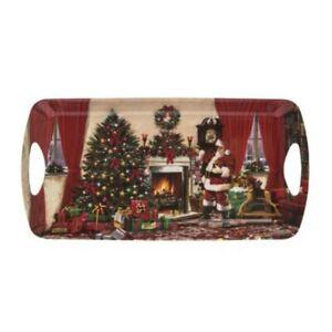 Xmas Santa Christmas Breakfast Tea Tray