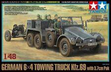 TAMIYA 1/48 Alemán 6x4 remolque camión kfz.69 with 3.7cm PAK #32580