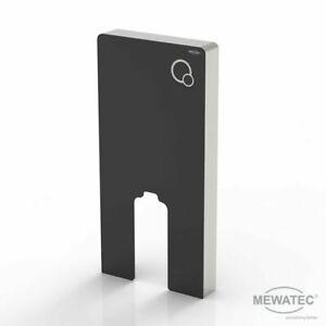 MEWATEC Marken Spülkasten MagicWall Spülwand für bodenstehende Keramiken, black