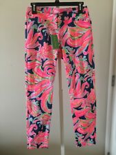 Precise New Lilly Pulitzer Kelly Skinny Ankle Pant Pink Sunset Size 6 $148 Clothing, Shoes & Accessories Pants