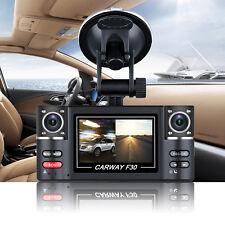 "2.7"" 1080P HD Dual Lens Car DVR Recorder Dash Cam Rear View Camera Night Vision"