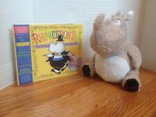 Kohl's Plush RHINOCEROS TAP Rhino & HC Book & CD by Sandra Boynton CUTE & CLEAN!
