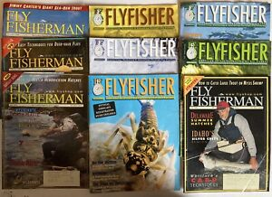 Fly Fisher Magazine Lot 2006 - 2006 Mix Flyfisher Lures Flies Fishing Ads