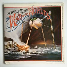 Jeff Wayne's musical version of THE WAR OF THE WORLDS vinyl LP - 1978 CBS