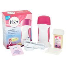 Veet Easy Wax ELETTRICO ROLLON Kit Sistema Nuovissimo Inscatolato Gratis Uk Kit Adattatore
