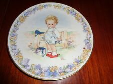 Gresham Collectors Plate I'SE BEEN PAINTING - MEMORIES OF YESTERDAY