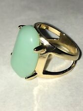 Avon Pastel Blue Statement Ring Size  - 8 NIB 2014