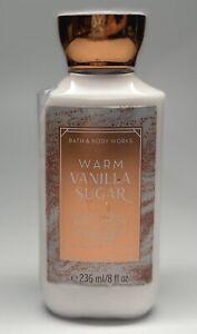 Bath & Body Works Warm Vanilla Sugar Shea Butter+Vitamin E Body Lotion-8oz