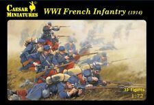 Caesar Miniatures - WWI French infantry (1914) - 1:72