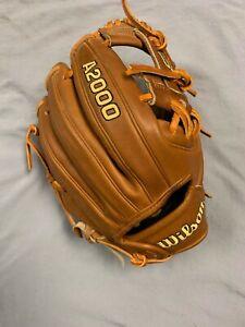 """2021 Wilson A2000 11.5"""" Infield Baseball Glove DP15"""