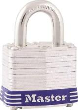 "New Master Lock 3D Laminated Steel Keyed Padlock 9/32"" X 3/4"" 6402457"