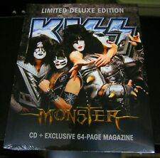 KISS MONSTER CD + MAGAZINE 2012 WALMART EXCLUSIVE RARE LIMITED DELUXE EDITION