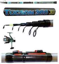 kit canna tucson + mulinello sword 5000 + filo pesca surfcasting fondo mare lago