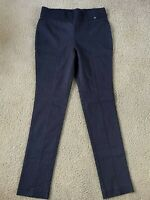JONES NEW YORK WOMENS GRAY STRETCH PEG LEG SKINNY STRETCH DRESS PANTS SZ 8 NWT