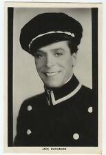 1930's Vintage Movie Film Star JACK BUCHANAN British photo postcard