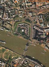 Torre di Londra / Bridge EC3 SE1. ST Katharine's Dock BUTLER'S Wharf 2000 mappa