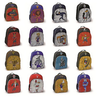 AFL Kids Mascot Backpack Back Pack School Sports Travel Bag! All Teams Available