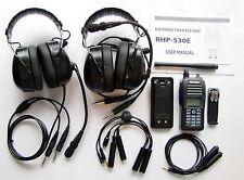 Rexon RHP-530 Radio Intercom+2headset package for LSA Ultralight 2 seat aircraft