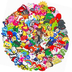 100pc Shoe Charms for Crocs Wristband Party gifts