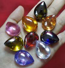 Powerful Nok Phra Gow 9 Colors Lucky Gems Naga Eye Crystal (Big) Thai Amulet#A50