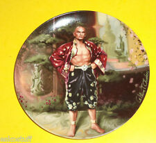 The King & I Yul Brenner 1984 A Puzzlement Limited Collector Plate Nice See!