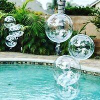 Crystal Bobo Balloons Transparent Bubble Birthday Baby Shower Decor