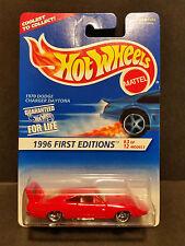 Hot Wheels #382 -'96 First Editions 3/12 : '70 Dodge Charger Daytona Rim B 14908