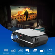 Android 4K 3D WiFi Home Cinema LED LCD HD 1080P Theater Projector HDMI WLAN/LAN