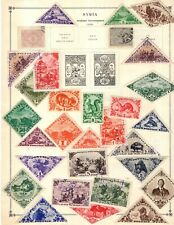 Kenr2: Tannu Tuva & Tasmania Collection from 1840-1940 Scott Intern Bound Album