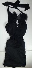 *NWT* AGGIE WOMENS LADIES BLACK DRESS SIZE SMALL E17