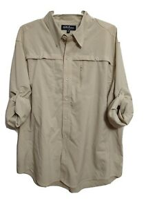 North River Outfitters Men's X-LARGE Breathable Hiking Outerwear Roll up Slv(#p2