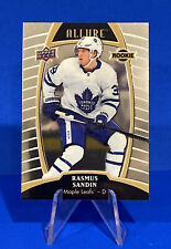2019-20 Upper Deck Allure Rasmus Sandin Rookie Card #92 Toronto Maple Leafs RC
