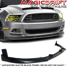 13-14 Ford Mustang V8 GT - GT500 Style Urethane Front Bumper Chin Lip Spoiler