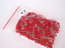50 Stecker (rot) für Modellbau, u.a. von Märklin, Brawa