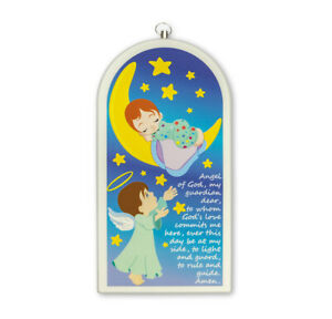 Baby's Room Gift Guardian Angel Prayer Wall Plaque
