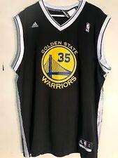 Adidas NBA Jersey Golden State Warriors Kevin Durant Black Alt sz L