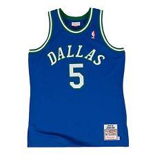 Jason Kidd Mens New 1995 Mitchell & Ness Dallas Mavericks Sewn Jersey Sz 52 XXL