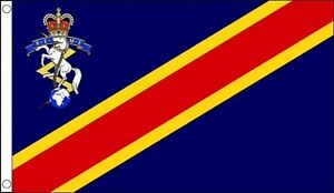 5' x 3' Royal Electrical & Mechanical Engineers Corps Flag REME Army Banner