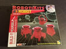 NEW SEALED OWI ROBOTIKITS 4 in 1 Robot ELECTRONIC ROBOT KIT OWI + #9874