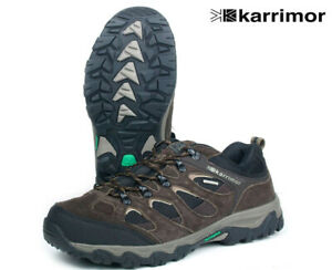 Karrimor Jura Low Men's Weathertite Waterproof Hiking Walking Shoes Brown