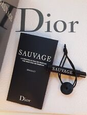 Christian Dior Sauvage Eau de Parfume EDP 1ml Vial Pocket Size with Bracelet