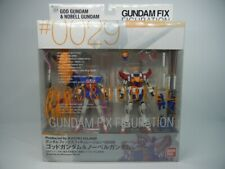 GUNDAM FIX FIGURATION #0029 God Gundam & Nobell Gundam Action Figure BANDAI