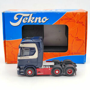 Tekno 1:50 Scania S-Serie Highline Kuehlauflieger Koops Wolter Diecast Used