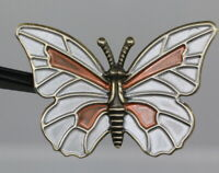 Gorgeous Large Metall-Zierknopf - Butterfly - Probably as From