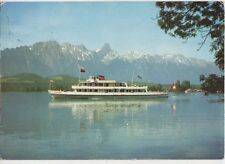 Interlaken Thunersee Old Postcard  199a