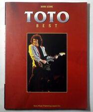 TOTO BEST BAND SCORE JAPAN GUITAR TAB