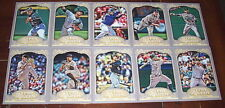 2012 Gypsy Queen Colorado Rockies team Base set of 10