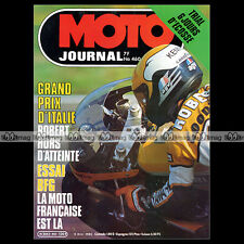 MOTO JOURNAL N°460 PATRICK DROBECQ BFG 1300 SCOTTISH SIX DAYS TRIAL SSDT 1980