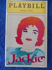Jackie - Belasco Theatre Playbill - Opening Night - November 1997 - Colin