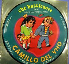 LP PICTURE DISC CHE BATTICUORE VOL.10 CUORE DI PIETRA CAMILLO DEL VHO RC47 1007